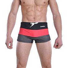 零碼出清原價390【ZS-192】MAN AWARE 新款網眼強加排水孔速乾四角泳褲 M 號