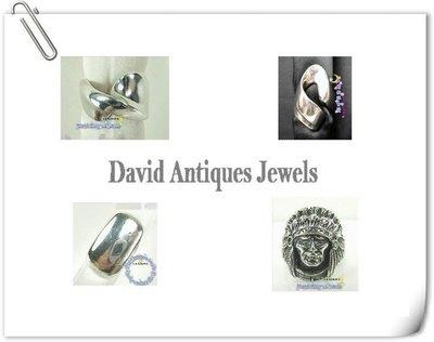 ((天堂鳥)) 925純銀戒指 左右不對稱造型 獨特不規則造型 不二價