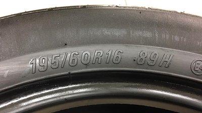【優質輪胎】瑪吉斯MAP2_195/60/16_四條16年七成新(胎紋約4.9mm_195-60-16)三重區