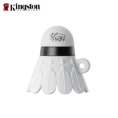 [米特3C數位] 金士頓 Kingston 戴資穎簽名羽球隨身碟(限量珍藏版)-64GB +金士頓護腕 X2