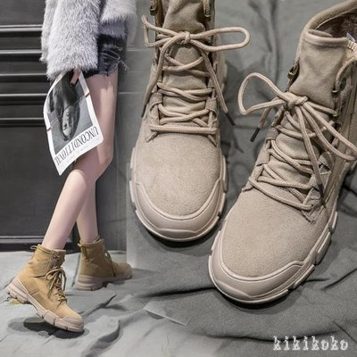 中大尺碼馬丁靴 新款女英倫風韓版百搭女靴秋季短靴子冬 DR4416