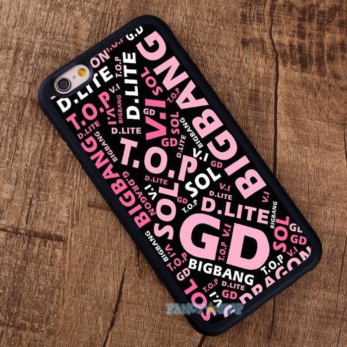 BIGBANG 2PM 手機殼iPhone 7 6S 三星S7 Note 5 SONY X