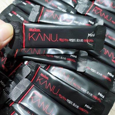 韓國限量量販裝 ~孔劉代言 KANU無糖黑咖啡 即溶沖泡咖啡50包入~現貨