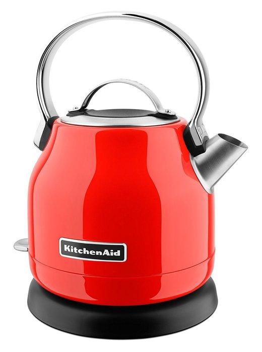 【Sunny Buy 生活館】Kitchenaid 小型電水壺(辣椒紅) KEK1222 熱水壺 不鏽鋼 快煮壺