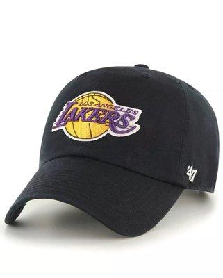 【YZY台灣】47 BRAND LA LAKERS 湖人 KOBE 老帽 復古帽 老爺帽 NBA LOGO 經典 黑