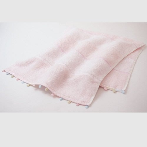 ☆注目の日本製原裝進口粉紅色UCHINO QUALITY 洗臉巾/長毛巾☆