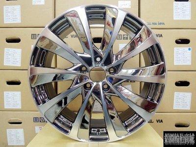 【CS-175】全新鋁圈 高質感 VIP式樣 炫風狀 18吋 5孔114.3 燻黑電鍍/鑽石車刀面 非 BBS HRE