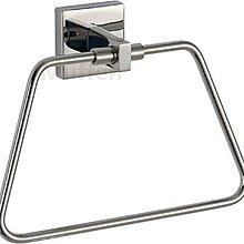 『MUFFEN沐雰衛浴』YR-1007 簡約設計 拋光亮面 304不鏽鋼 不銹鋼 浴巾架 浴巾環 衛浴室配件