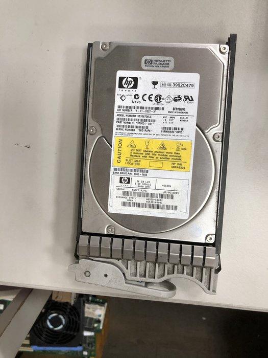 【偉斯科技】 HP A6538-69003 36GB 10K RPM 3.5吋 Ultra160  SCSI HDD