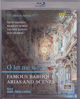 南方音像高清藍光碟 O let me weep Famous Baroque Arias & Scenes 詠嘆調 巴洛克25G