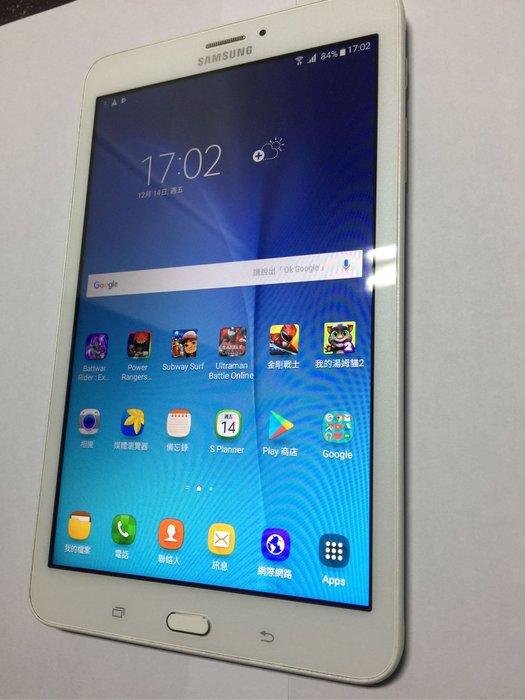 SAMSUNG GALAXY Tab E 8.0 LTE T3777 4G 500萬畫素 8.0吋