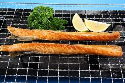 【中秋烤肉食材】鮭魚肚條 / 約650g±5% / 包~柔嫩肉質含有豐富的油質是烤肉行家的最愛