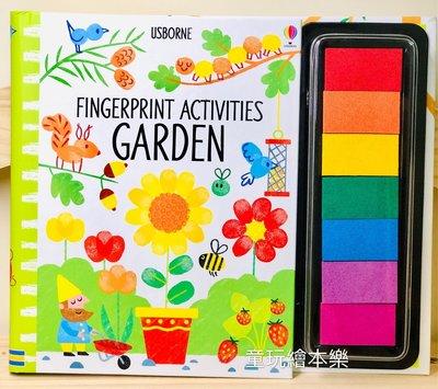 現貨《童玩繪本樂》英國代購Usborne Fingerprint Activities 手指拓印 書