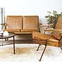 [ 椅子王 ]-----復古工業風雙人沙發  複刻版《SO55特價$7000》