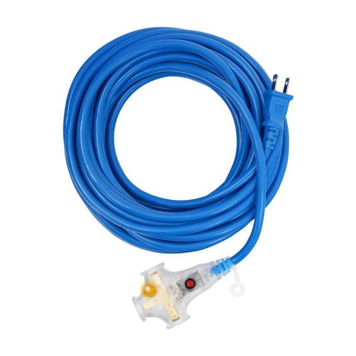 【TRENY直營】 2.0mm²藍色雙絕緣動力過載延長軟線-10m 3340