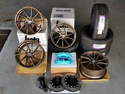 英國BOLA鋁圈[BOLA-B25鋁圈、NEXEN-N8000輪胎225-45-R18、225-40-R18]