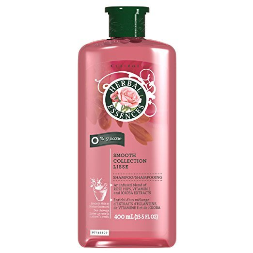 Herbal Essences | 草本精華Smooth Collection 無矽靈洗髮精 玫瑰 400ml