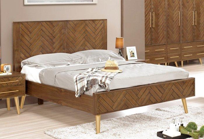 普萊斯5尺雙人床(另有6尺雙人床)😊暖暖屋傢俱傢飾😊
