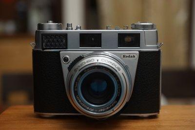 經典工藝鉅作-柯達 Kodak Retina IIs 45mm f2.8信乃達Schneider鏡頭純正德國血統RF機