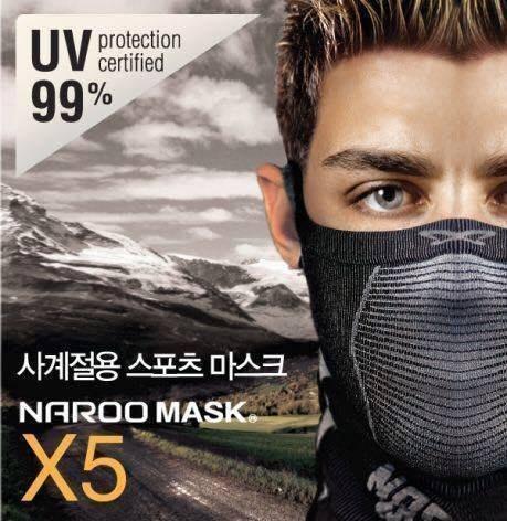 (I LOVE樂多)Naroo Mask 長版X5騎行運動 面罩 單車 哈雷 越野 滑胎 偉士 VESPA Cafe