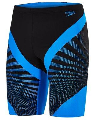 ~BB泳裝~2018 S/S SPEEDO Chevron Splice ENDURANCE+男人運動及膝泳褲 黑藍