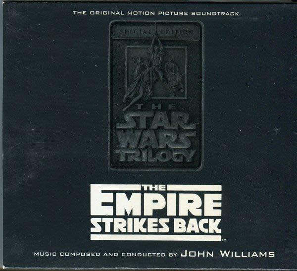 【塵封音樂盒】星際大戰 帝國大反擊 Star Wars: The Empire Strikes Back 電影原聲帶 2CD