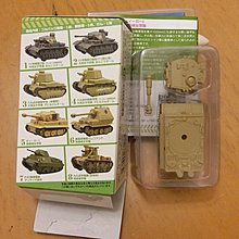 F-toys Girls and panzer 少女與戰車 #5 Tiger one