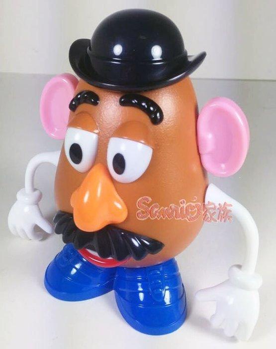 《東京家族》迪士尼 樂園玩具總動員 蛋頭先生 手可動 收納盒 糖果盒  糖果罐