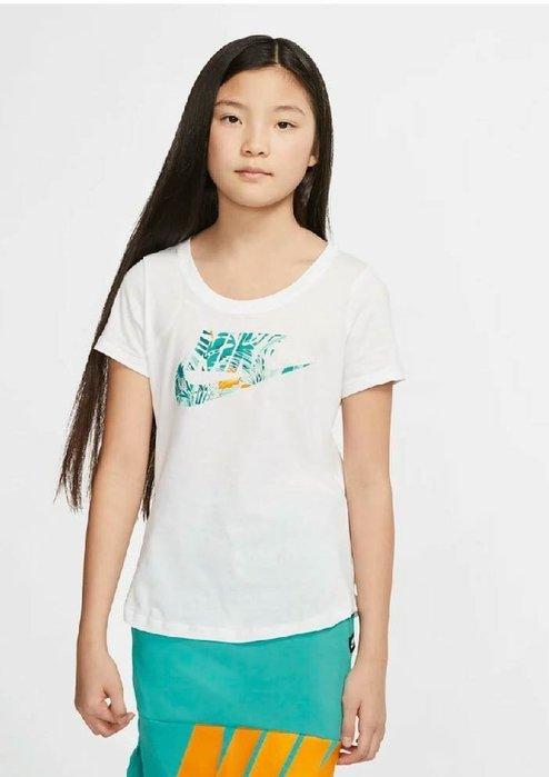 NIKE GIRL 兒童運動衫 T恤 短袖上衣 CD9576100 $880 size:XS S M XL