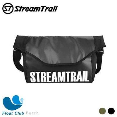 STREAM TRAIL 日本潮流防水包 Perch 郵差包 多功能收納包 防水包 瑪瑙黑 / 陸軍綠 原價2680元