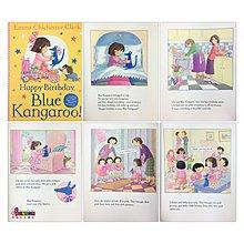 [邦森外文書] Happy Birthday, Blue Kangaroo!  生日快樂~藍袋鼠!平裝本
