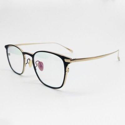 [恆源眼鏡] VEDI VERO VO8007 BLKG β鈦金屬光學方框眼鏡 韓義混合風格 新北市