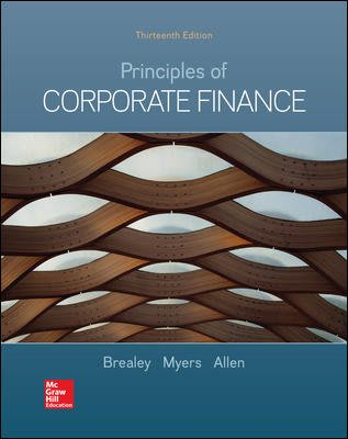 (電子版課本) Principles of corporate finance 13e