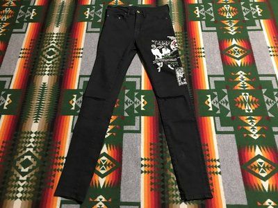 Hysteric glamour x Cramps Slim cut 29W