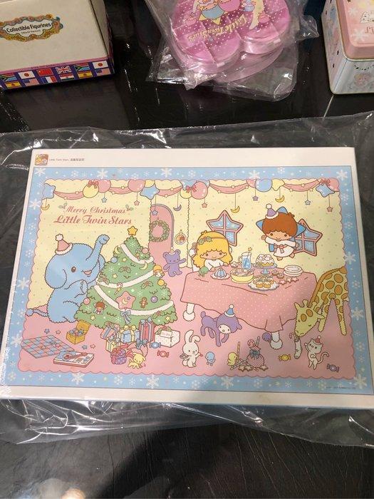 全新 正版 雙子星 kikilala twin stars 溫馨聖誕節 拼圖 1000片