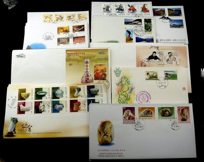 82年~104 各類郵票 小全張 套票 首日封約90封  票面值約3000元 打折