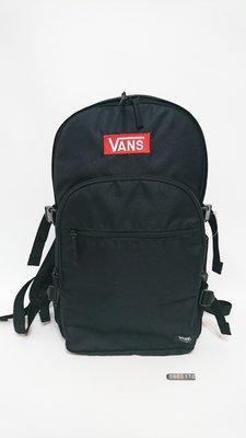 VANS-黑色後背包-1800176