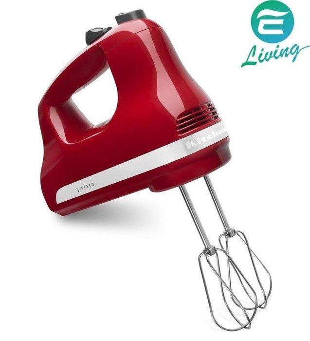 【易油網】KitchenAid KHM512ER 5速手持式攪拌器 紅 #27064