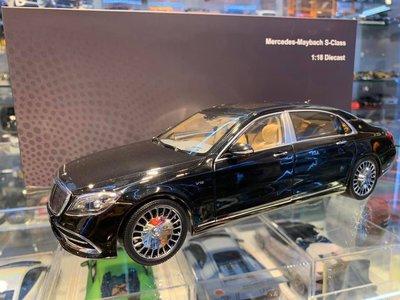 吉華科技@  1/18 Almost Real Mercedes-Maybach S-Class 2019 黑色