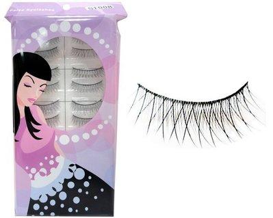 【零秘密】S1008 手工假睫毛 10對入 交叉纖細電眼迷人放大 eyelash 另有其他美妝用品