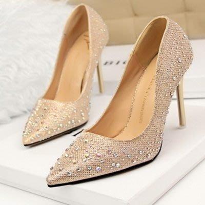 尖頭高跟鞋 水晶婚鞋-性感剔透熟女必備女鞋子6色73e20[獨家進口][米蘭精品]