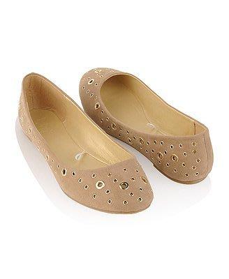 【美衣大鋪】☆ forever 21 正品☆Grommet Studded Ballet 美鞋~f21~2色