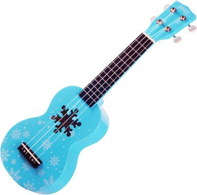 【六絃樂器】全新 Mahalo Snow Blue ukulele 21吋烏克麗麗 / 現貨特價