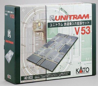 KATO N規  40-803 ユニトラム 鉄道乗入れ拡張 V53
