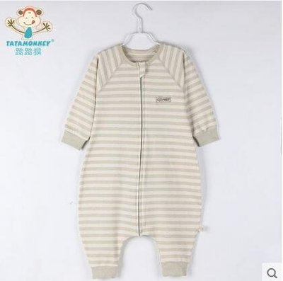 彩棉分腿夏天空調純棉透氣寶寶睡袋兒童防踢被GZG404