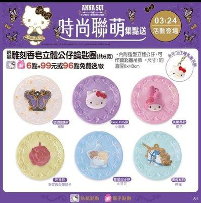 7-11 Kitty x Anna Sui 時尚聯萌香皂鑰匙圈