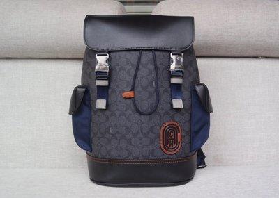 ㊣國際品牌COACH庫㊣美國代購COACH 76036 12月新款【2件免運】新款RIVINGTON男背包 後背包雙肩包