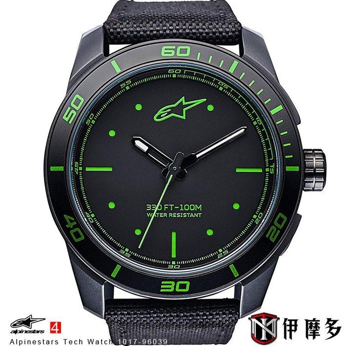 伊摩多※義大利 Alpinestars Tech Watch 手錶 腕錶 運動 奢華時尚 A星 1017-96039