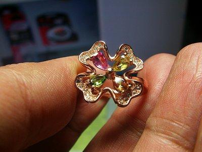 **結緣水晶**超優質,清透漂亮,天然碧璽戒指,款式都不一樣,喜歡的參考看看,全館特賣免運費唷(10)