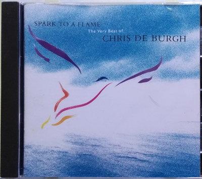 《絕版專賣》Chris De Burgh 克利斯迪博夫 / Spark To A Flame 精選輯 (德版.全銀圈)